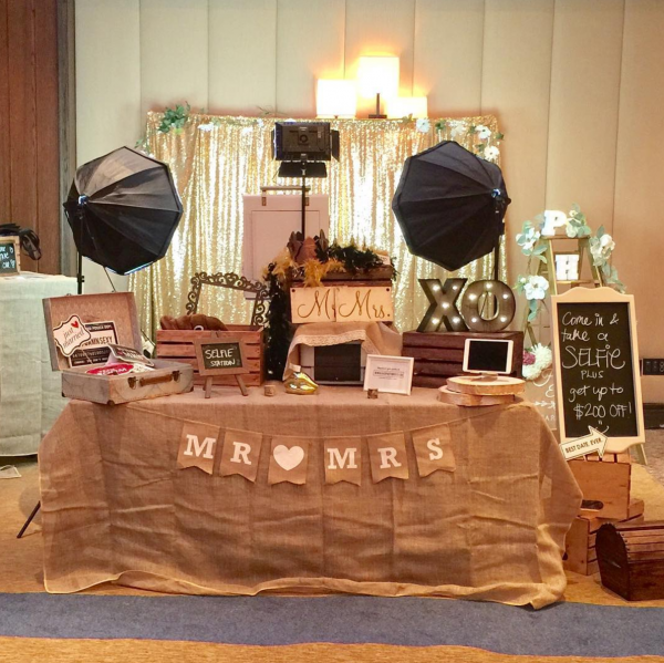 Rustic Vintage Photo Booth