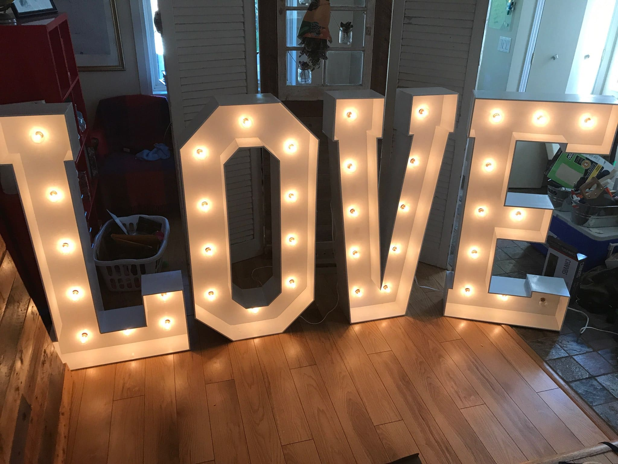 Love Marquee Letters Huge