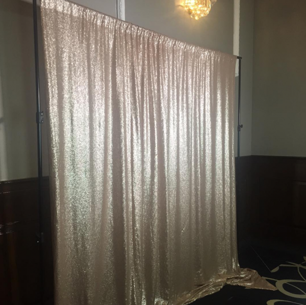 Champagne Sequin Backdrop