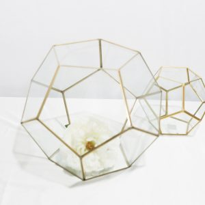 Large Gold Terrarium