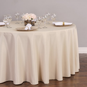 Beige Cream Tablecloth for Rent Toronto