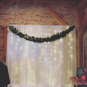 Fairy Light Backdrop For Rent