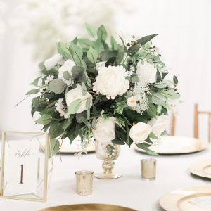 Greenery Centerpiece Garden Wedding