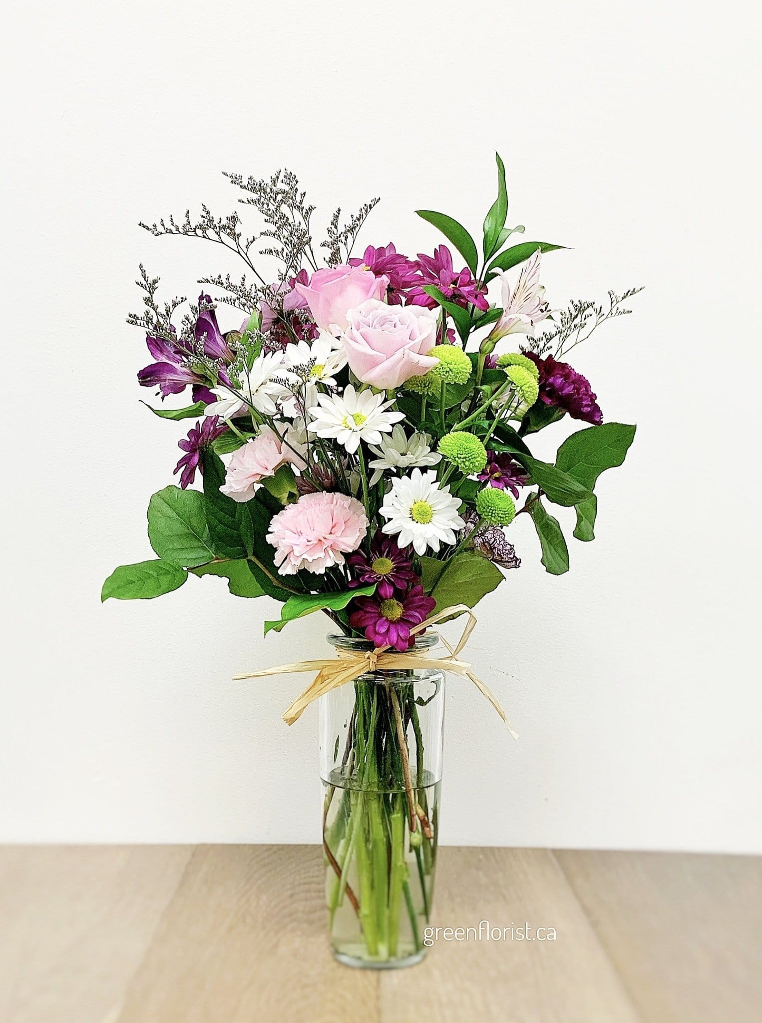 Green Florist Pretty Thoughts Bouquet for Delivery in Vaughan