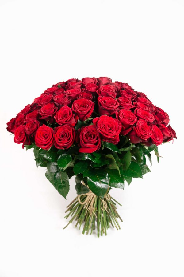Wild For You · Huge Red Roses Bouquet