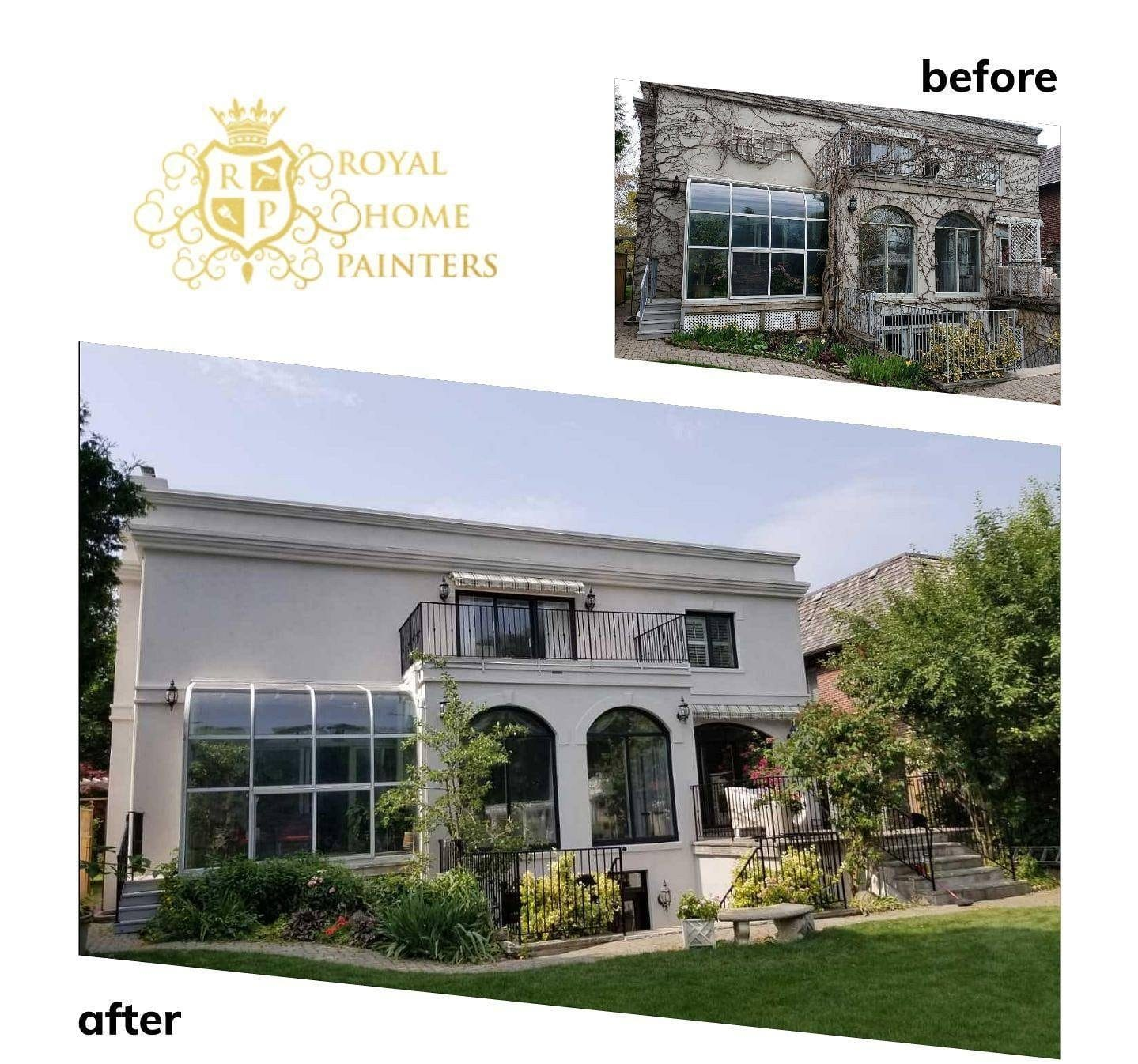 royal painters exterior painting