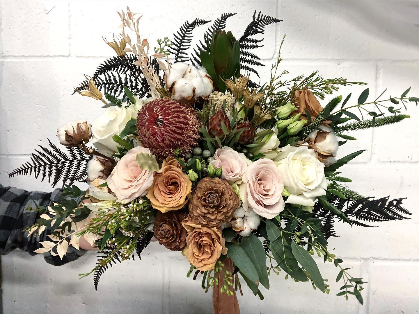 bridal flower packages from Anthi