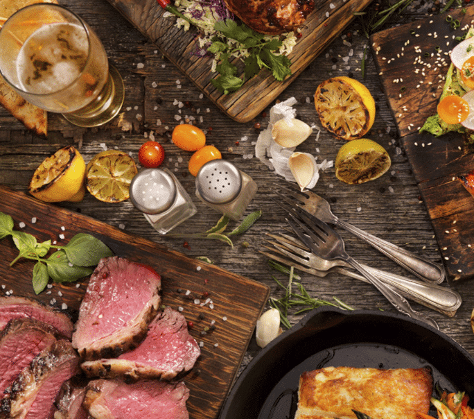 Kiss the cook, luxury meals for picnic baskets