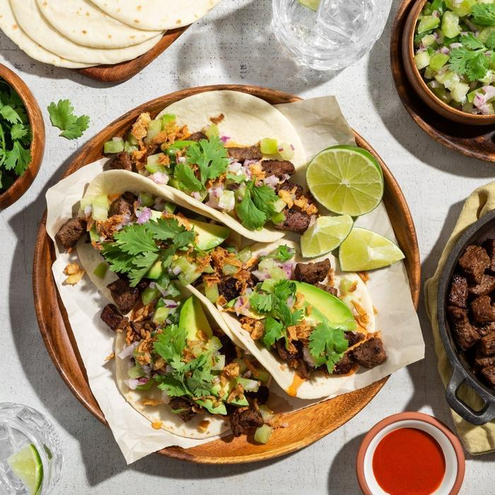 grilled chicken taco meal kit