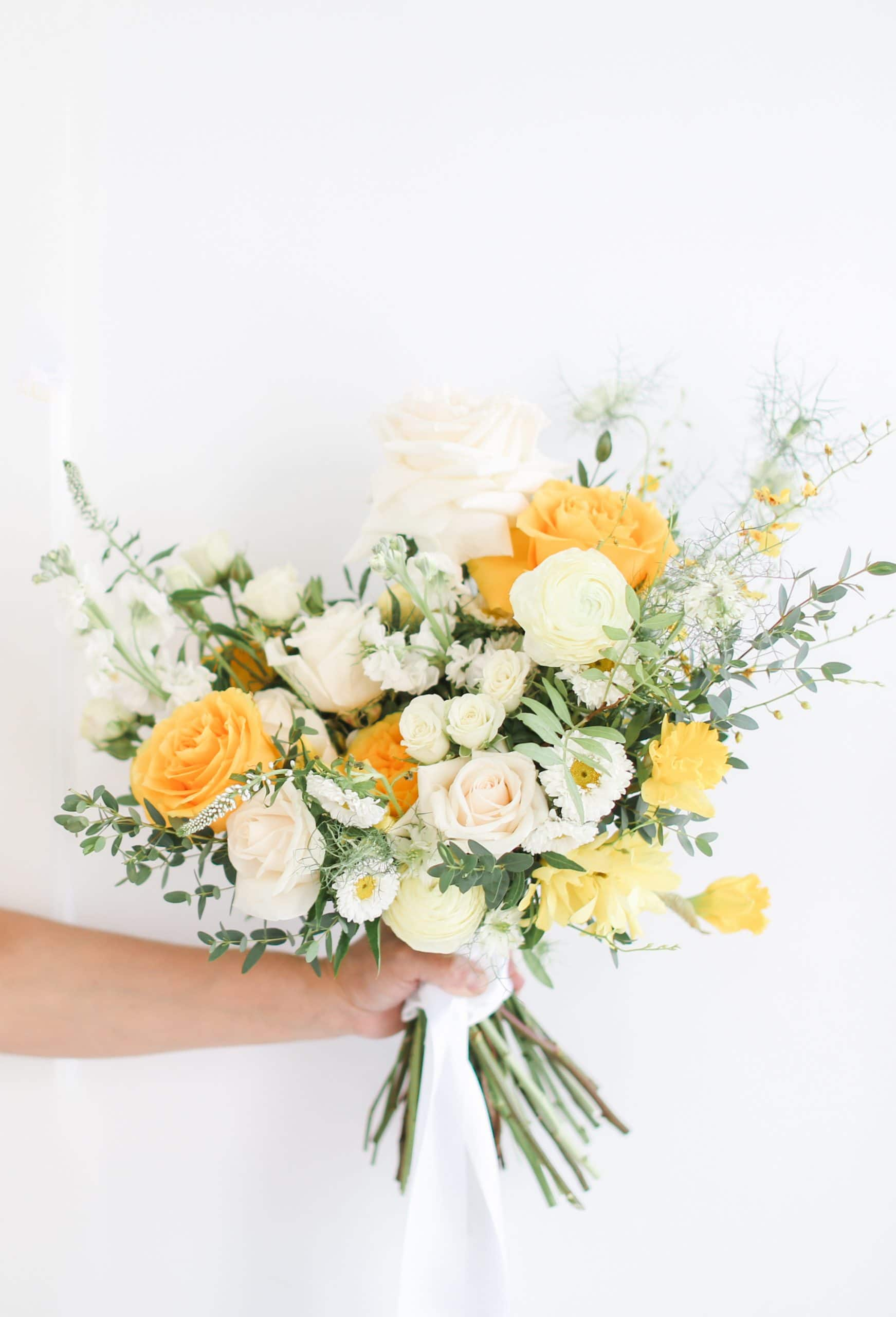 fresh spring inspired ready to buy bridal bouquets